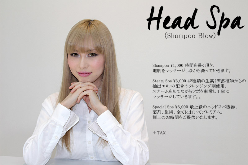 head spa price